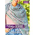 """Buch """"Woolly Hugs Bobbel Tunesisch häkeln – Tücher, Schals, Ponchos"""""""