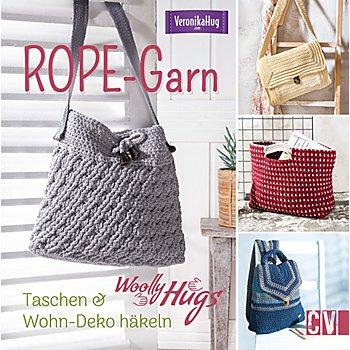 Buch 'Woolly Hugs ROPE-Garn – Taschen & Wohn-Deko häkeln'