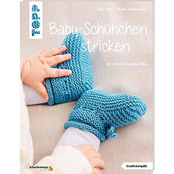 Buch 'Baby-Schühchen stricken – für wirklich warme Füsse'