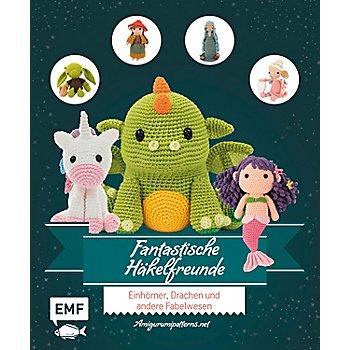 Buch 'Fantastische Häkelfreunde – Einhörner, Drachen und andere Fabelwesen'