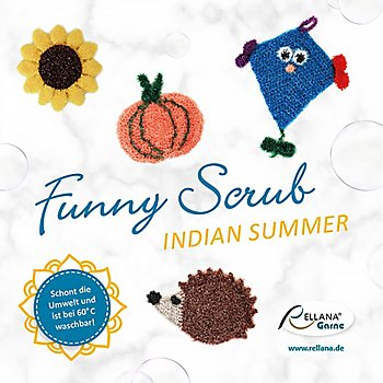 Rellana Anleitungsheft 'Funny Scrub - Indian Summer'