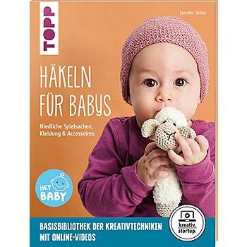 Buch 'Häkeln für Babys – Niedliche Spielsachen, Kleidung & Accessoires'