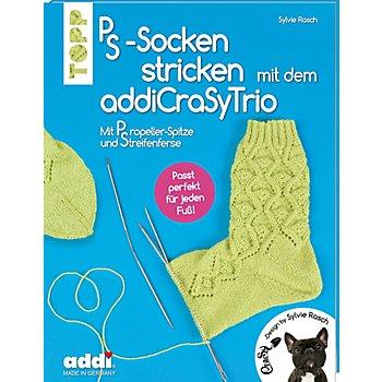 Buch 'PS-Socken stricken mit dem addiCraSyTrio'