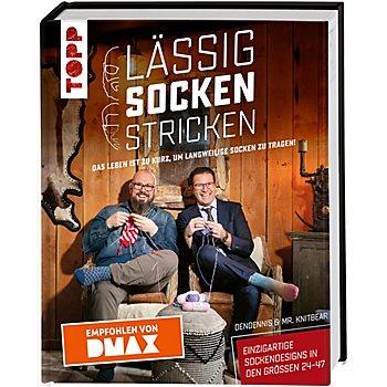 Buch 'Lässig Socken stricken'