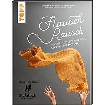Buch 'Flauschrausch – Tücher, Accessoires & Mehr stricken mit Mohair'