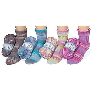 ONline Wolle Supersocke Cotton Plus Color