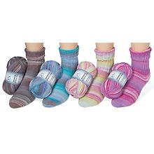 ONline Laine Supersocke Cotton Plus Color