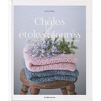 Livre 'Châles & étoles ajourés au tricot'