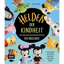 Buch 'Helden Der Kindheit – das Häkelbuch'