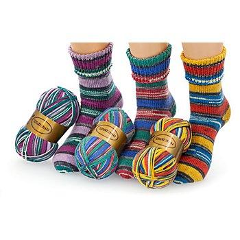 Set éco Woll Butt laine à chaussettes 'Traumwelt', 300 g