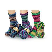 Set éco Woll Butt laine à chaussettes 'Rainbow', 300 g