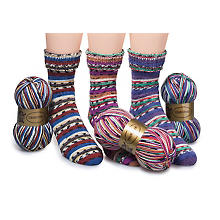 Set Woll Butt laine à chaussettes 'Boogie-woogie', 300 g