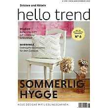Schachenmayr Heft 'Trendmagazin Nr. 6 – Sommerlig Hygge'