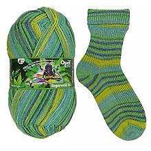 Opal Laine à chaussettes, forêt tropicale 'Quasselstrippen'