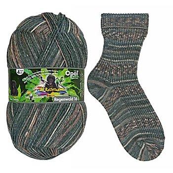 Opal Regenwald Sockenwolle 'Der Checker'