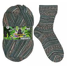 Opal laine à chaussettes, forêt tropicale 'Der Checker'