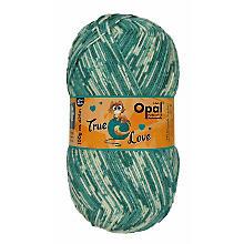 Opal Laine à chaussettes 'true love', 4 fils, vert