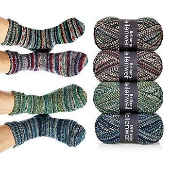 Lana Grossa Laine à chaussettes 'Meilenweit Brillante'