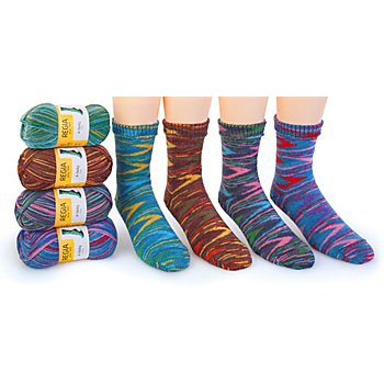 Schachenmayr Regia Laine à chaussettes 'Weekend Color'