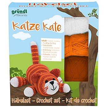 Gründl Häkel-Set 'Katze Kate'