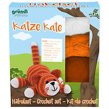 Gründl Kit crochet 'Kate le chat'