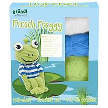 Gründl Häkel-Set 'Frosch Froggy'