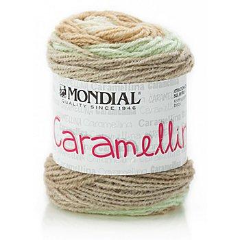 Mondial Caramellina - Modegarn, beige color