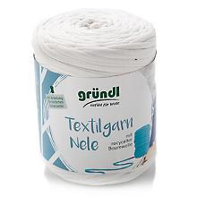 Gründl Textilgarn, Weisstöne, 500 g