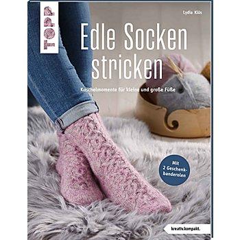 Buch 'Edle Socken stricken – Kuschelmomente für kleine und große Füße'