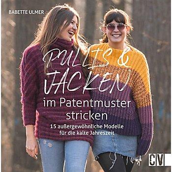 Buch 'Pullis & Jacken im Patentmuster stricken'