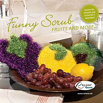 Rellana Anleitungsheft 'Funny Scrub - Fruits and more'
