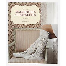 Livre 'Magnifiques chaussettes au tricot'