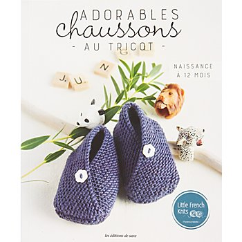 Livre 'Adorables chaussons au tricot'