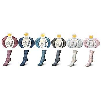 Schachenmayr Regia Premium Sockenwolle Silk Color