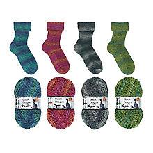 Opal Laine à chaussettes 'Black Dragon', 4 fils