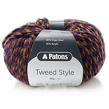 Patons Wolle Tweed Style, laub