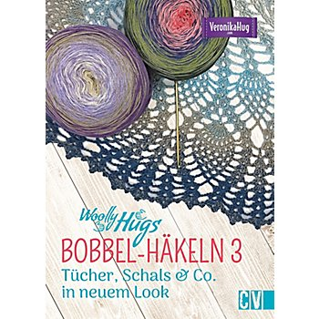 Buch 'Woolly Hugs BOBBEL-Häkeln 3 - Tücher, Schals & Co. in neuem Look'