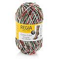 """Laine à chaussettes Regia cotton Color """"Around the world"""""""