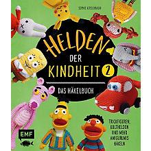 Buch 'Helden der Kindheit 2 - Das Häkelbuch'