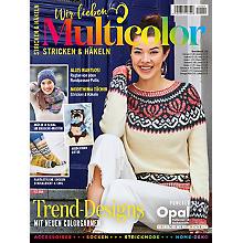 Heft 'Wir lieben Multicolor - Stricken & Häkeln'