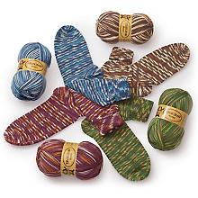 Pack de laine à chaussettes Woll Butt 'monza', 400 g