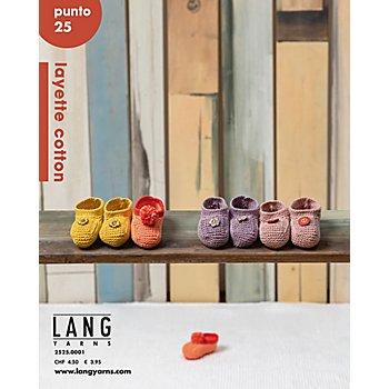 Lang Yarns Magazine 'Punto 25 Layette cotton'