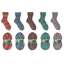 Opal Sockenwolle 'Schafpate XIII – Faszination Schafpate', 4-fach