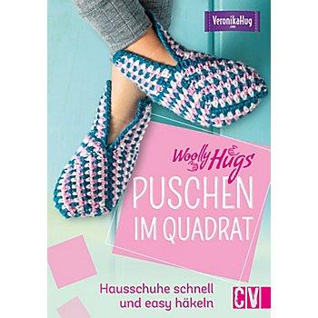 Buch 'Woolly Hugs – Puschen im Quadrat'