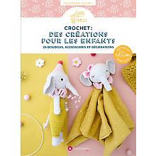 Livre 'Crochet : des créations pour les enfants'