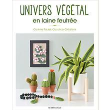 Livre « Univers végétal en laine feutrée »