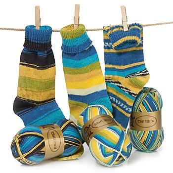 Set éco Woll Butt laine à chaussettes 'Indiana', 300 g