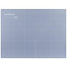 buttinette Tapis de découpe, gris/bleu