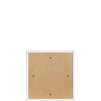 Kunststoffrahmen weiß 18 x 18 cm