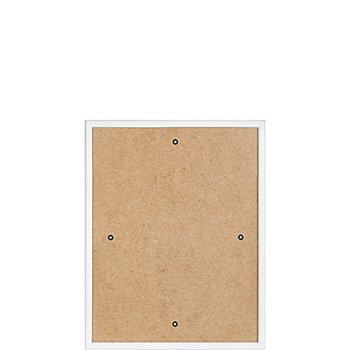 Cadre en plastique, blanc, 20 x 25,5 cm